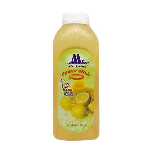 Nước chanh muối Mr Drink 600ml