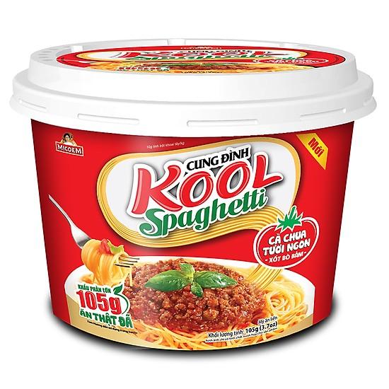 Mì cung đình KOOL spaghetli  (Tô 105g)