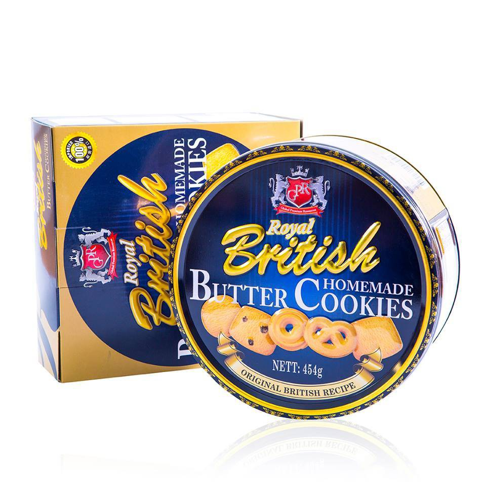 Bánh Royal British Hộp thiếc 908g