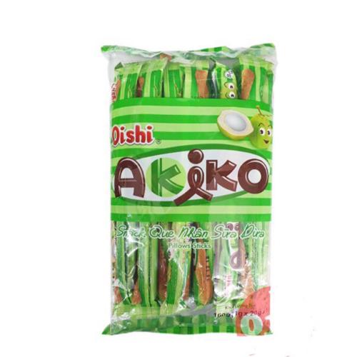 Bánh que Akiko nhân sữa dừa 160g