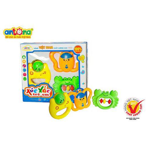 Xúc xắc trẻ em hộp 3Pcs