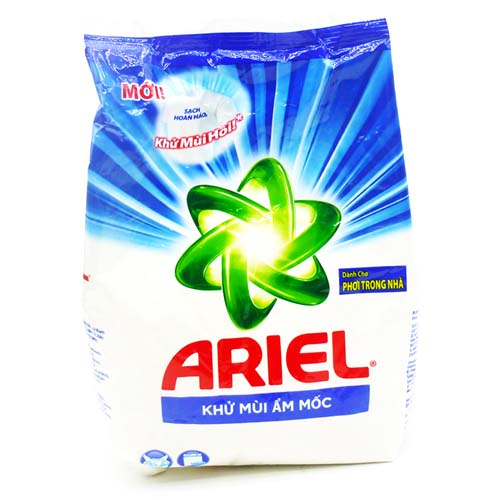 Bột giặt  Ariel khử mùi ẩm mốc 650g