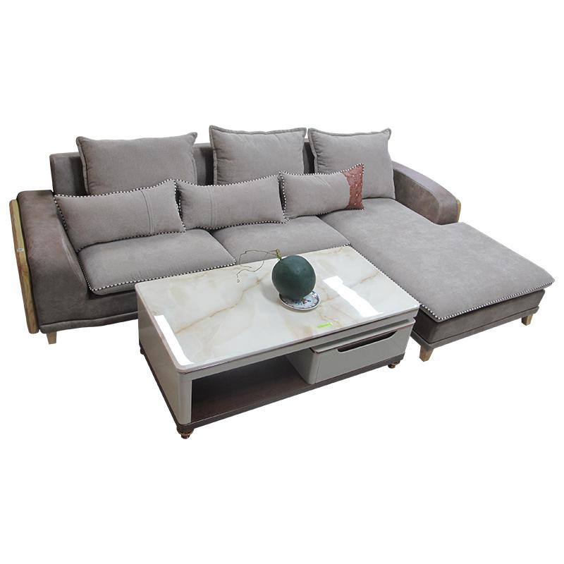 Sofa góc nỉ -da AT7033