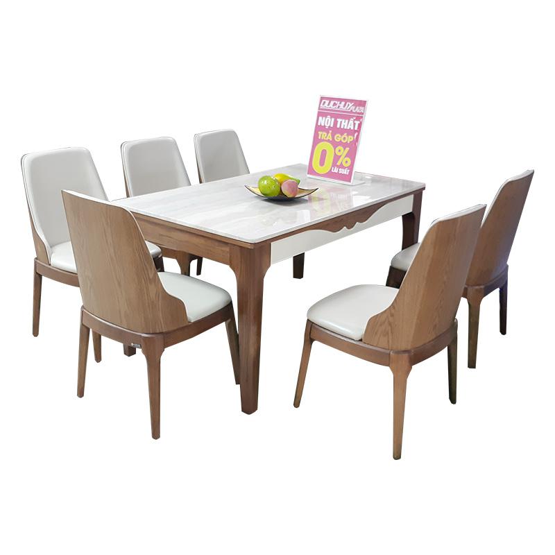 Bộ bàn ăn ATK32 - 6 ghế