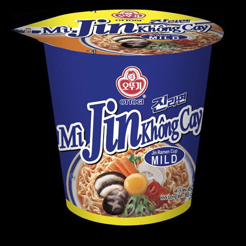 Mì Jin không cay Ottogi 65g