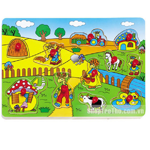 Bảng nhận hình nông trại 98161