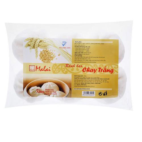 Bánh bao Malai chay trắng 180g