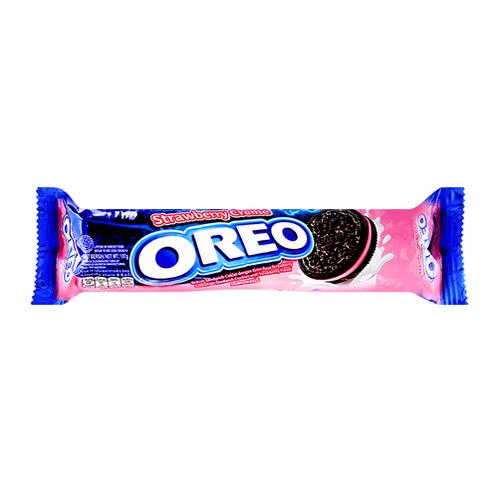 Bánh OREO 137g vị kem dâu