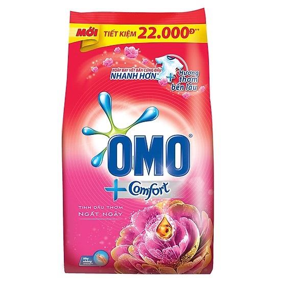 Bột giặt  Omo Comfort dầu thơm ngất ngây 2.7kg