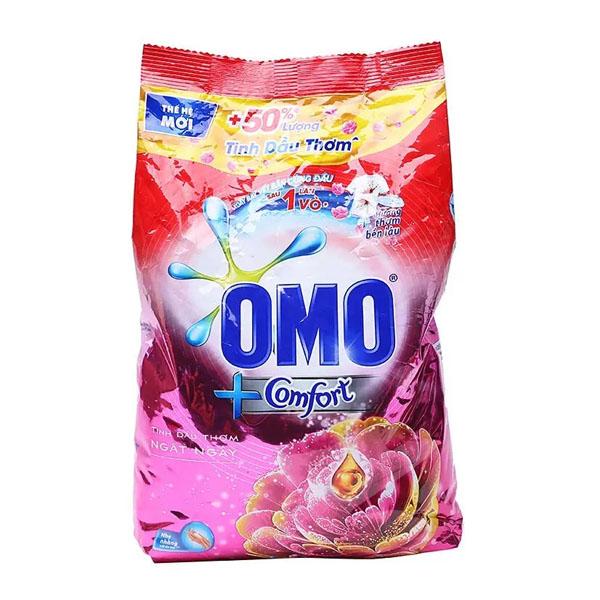 Bột giặt  Omo Comfort dầu thơm ngất ngây 4kg