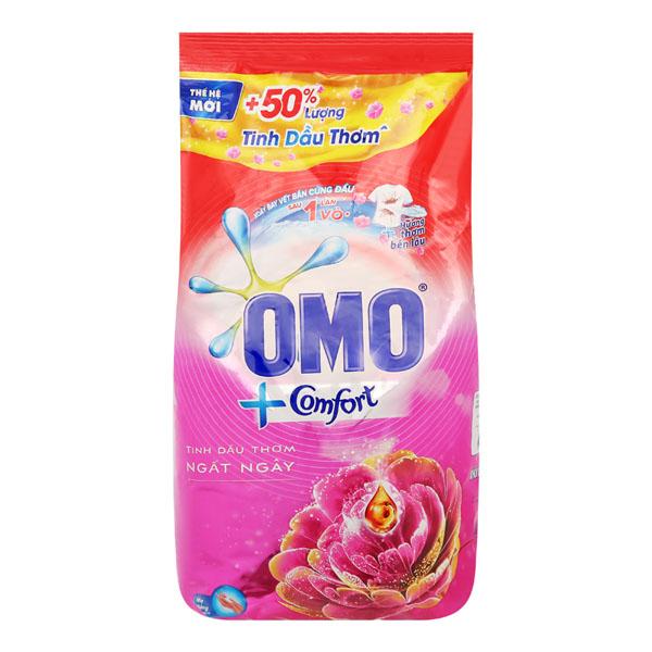 Bột giặt  Omo Comfort dầu thơm ngất ngây 5.5kg