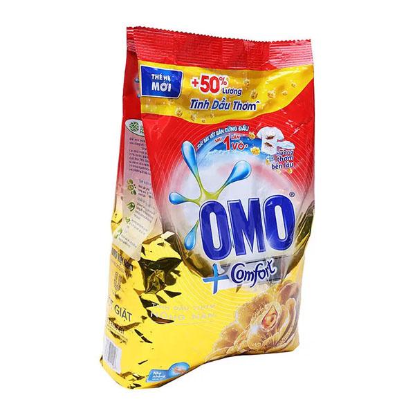 Bột giặt  Omo Comfort tinh dầu thơm nồng nàn 4kg