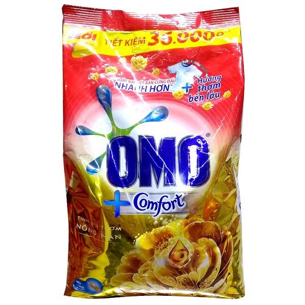 Bột giặt  Omo Comfort tinh dầu thơm nồng nàn 5.5kg