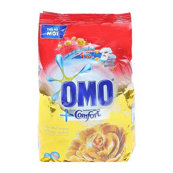 Bột giặt  Omo Comfort tinh dầu thơm nồng nàn 360g
