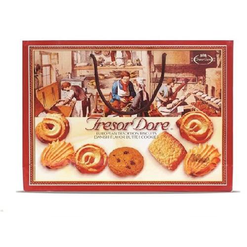 Bánh TresorDore Bỉ Hộp Giấy 600g