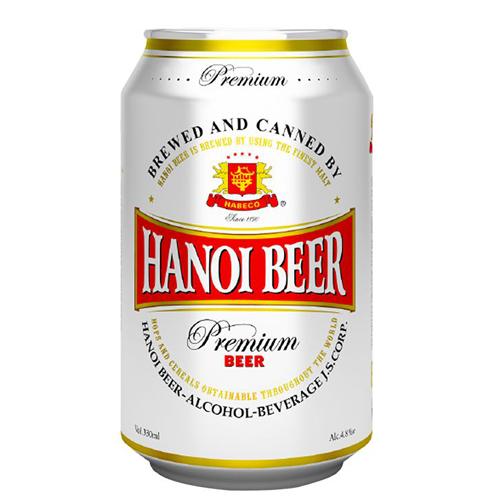 Bia lon Hà Nội Beer 330ml