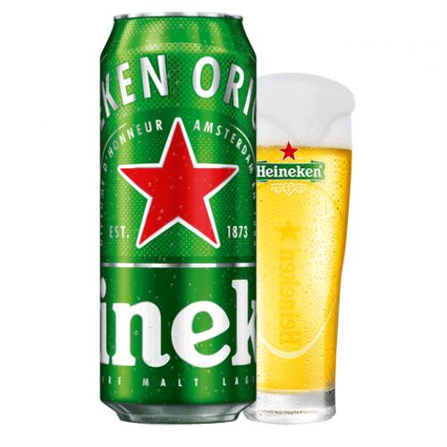 Bia Heineken Hà Lan 5% - 24 lon 500ml