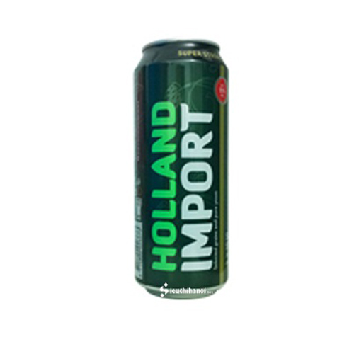 Bia Holland Import 12% lon 500ml