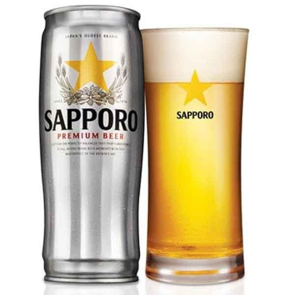 Bia Sapporo Nhật lon 650ml