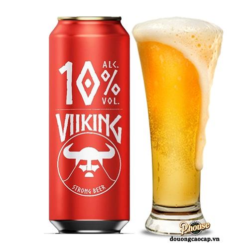 Bia Viiking Strong Beer 10% – Lon 500ml