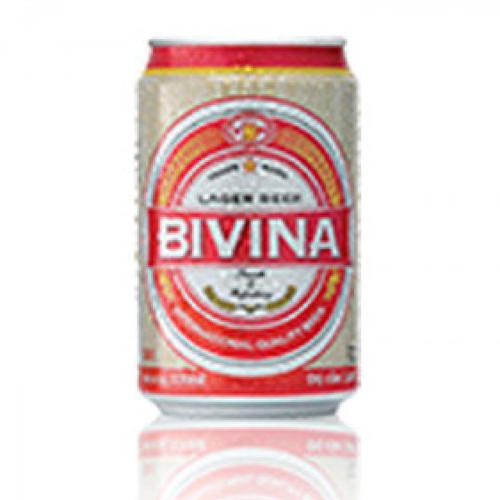 Bia Bivina Export lon 330ml