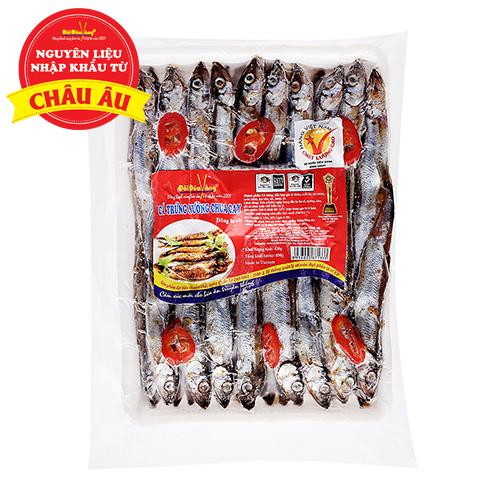 Cá Trứng  nướng chua cay 450g/ khay