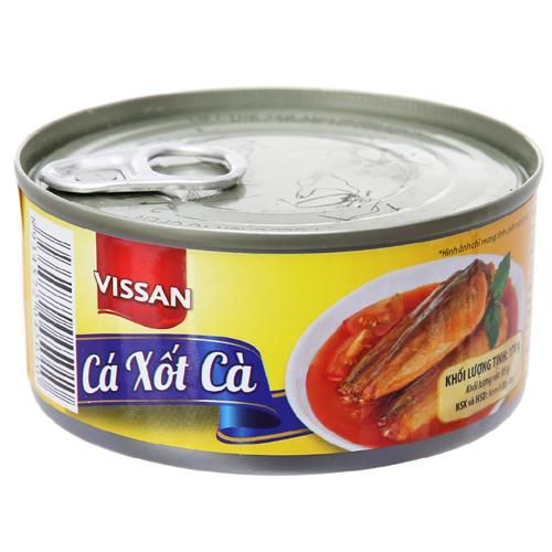 Vissan cá xốt cà 170g