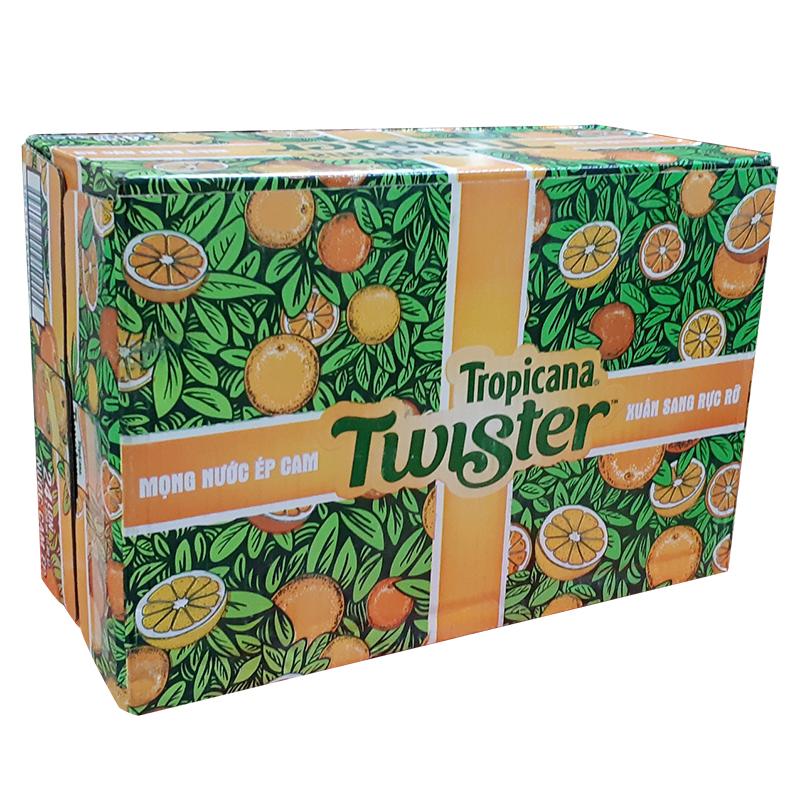 Thùng nước Cam Twister 24 lon 320 ml