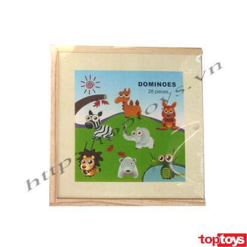 Domino hoạt hình thú HJD93856
