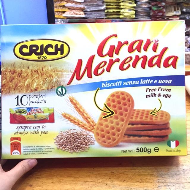 Bánh quy Crich Gran Merenda 500g