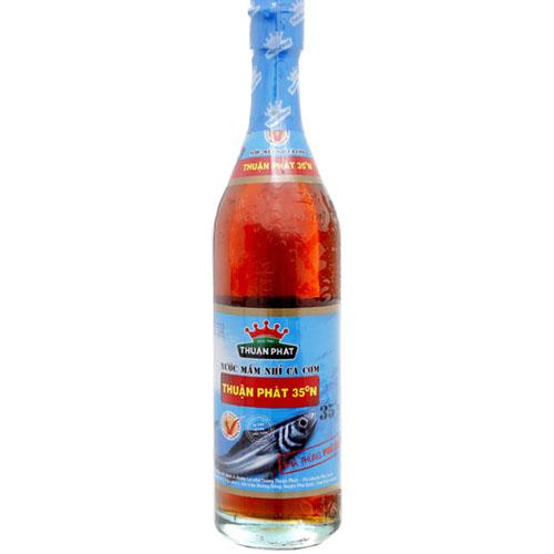 Nước mắm cá cơm 60 Thuận Phát 500ml