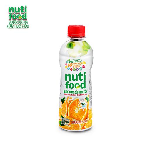 Nước uống sữa trái cây Nuti food hương cam 300ml