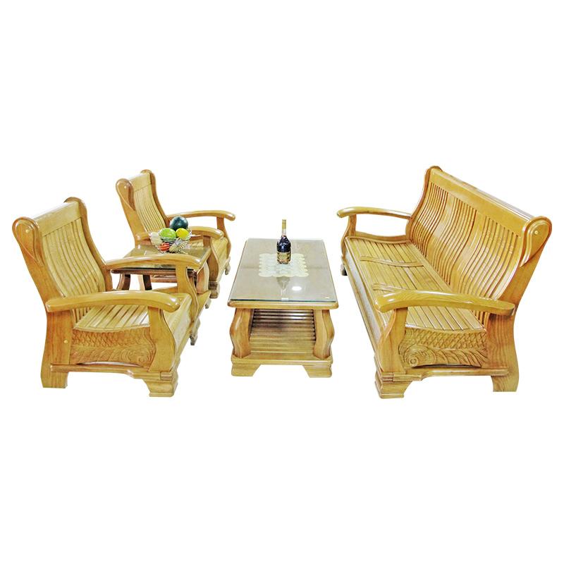 Bộ Salon gỗ Sồi HL2039S