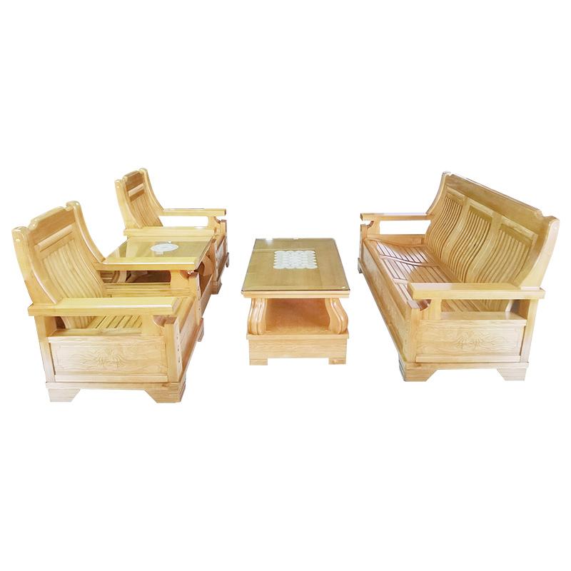 Bộ Salon gỗ Sồi HL2091S