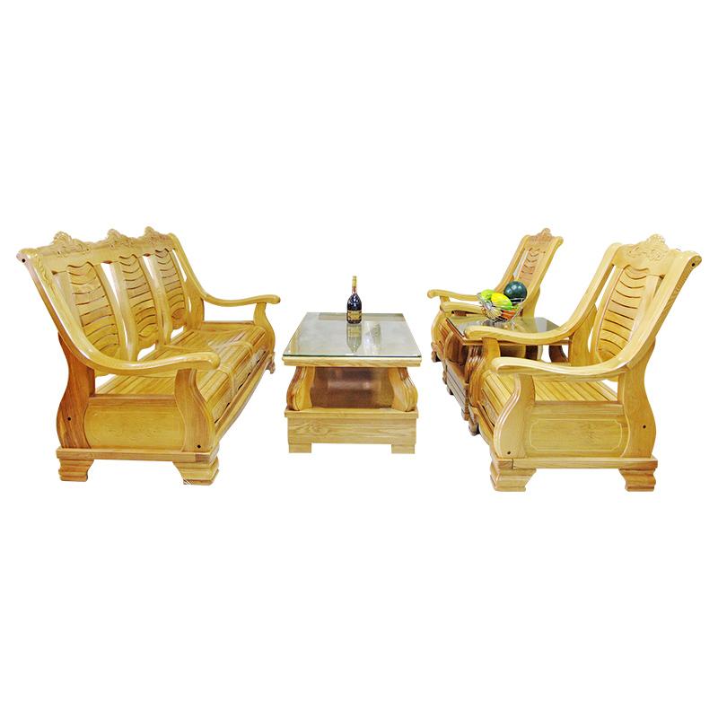 Bộ Salon gỗ Sồi HL035
