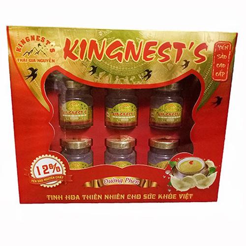 Nước yến Kingnest's có đường 70ml*6 hộp