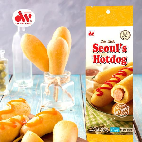 Xúc xích Seoul's Hotdog 140g