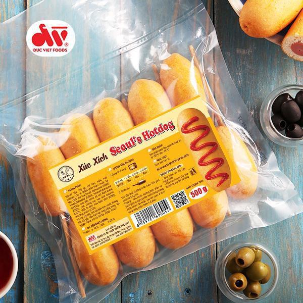 Xúc xích Seoul's Hotdog 500g