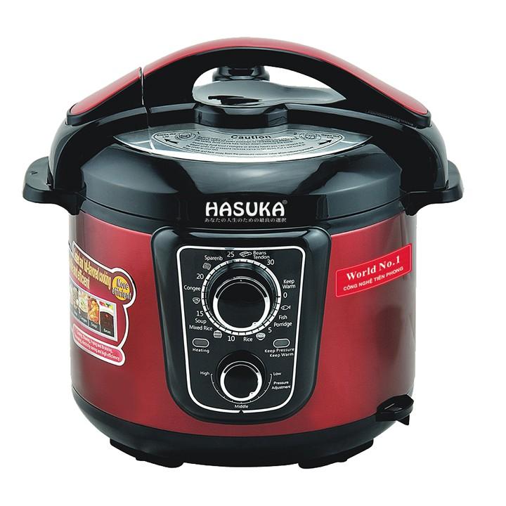 Nồi áp suất điện Hasuka HSK983(5L)