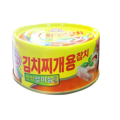 Cá ngừ hộp nấu canh Kim Chi Ottogi 150g