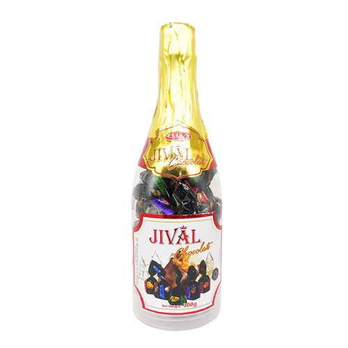 Kẹo Chai Jival socola 300g