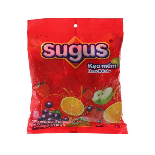 Kẹo mềm Sugus hương trái cây 210g