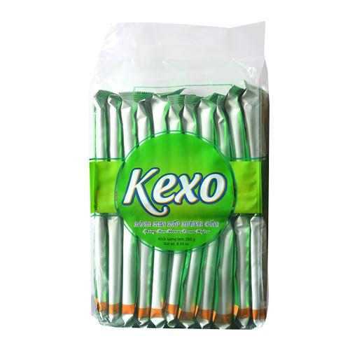 Bánh kem xốp Kexo cốm gói 265g