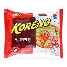 Mì ăn liền Koreno vị kim chi 75g