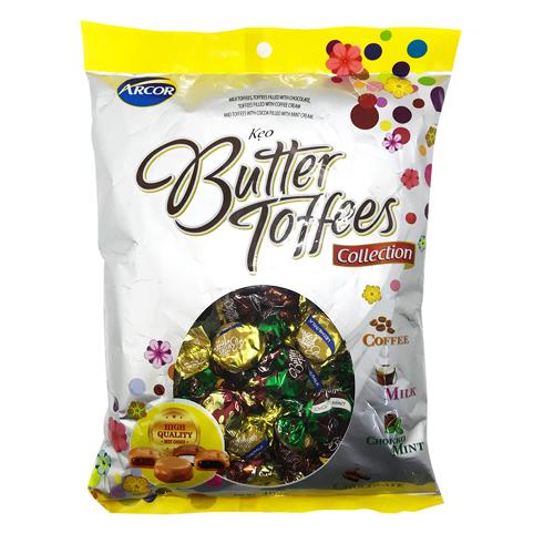 Kẹo BUTTER TOFFEES gói 400g