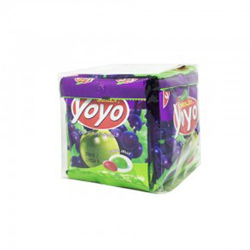 Kẹo dẻo Yoyo vị nho và táo 240g