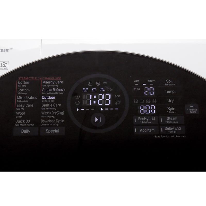 Máy giặt sấy LG Inverter 10.5 kg FG1405H3W