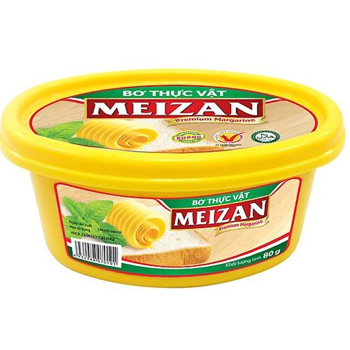 Bơ thực vật Meizan 80g