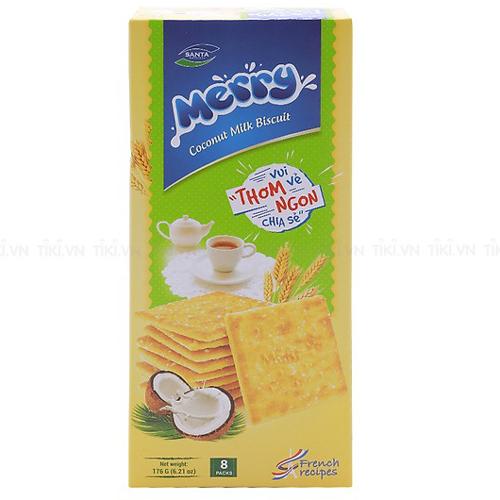 Bánh quy Merry vị sữa dừa 176g