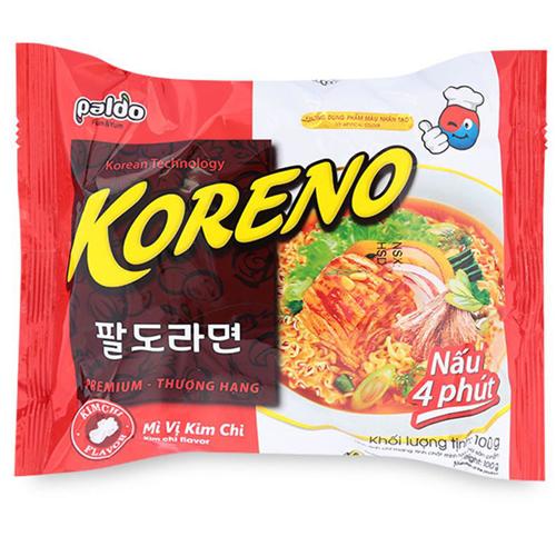 Mì Koreno vị kim chi 100g